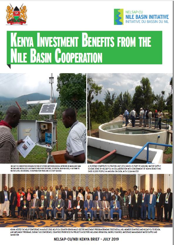 COVER Kenya Investment Benefits from the Nile Basin Cooperation