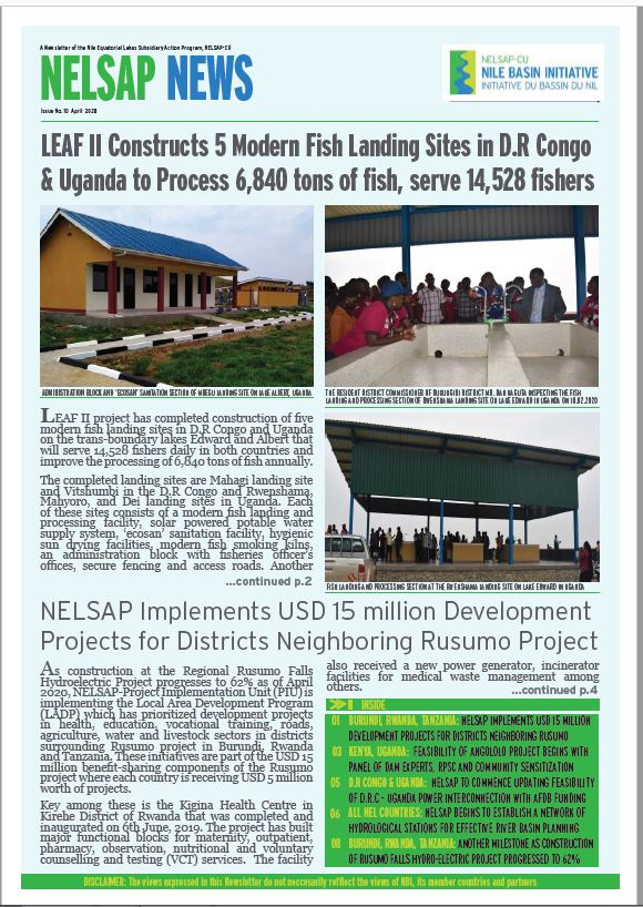 Cover NELSAP News April 2020